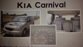 2000 Kia Carnival with AVOL GPS Included! Great Family Vehicle! in Osan AB, South Korea