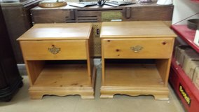 2 Matching Knotty Pine American of Martinsville Night Stands in Naperville, Illinois