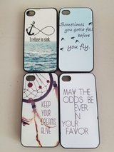 Lot of 4 iPhone 4 4s cases in St. Charles, Illinois