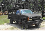1988 Black Chevy Pick Up in Houston, Texas
