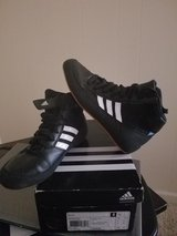 Kids Adidas wrestling shoes in Manhattan, Kansas