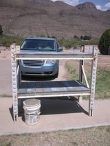 Industrial shelving unit in Alamogordo, New Mexico