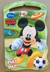 Micky Mouse book in Fort Riley, Kansas