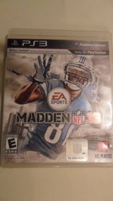 PS3 Madden 13 in Clarksville, Tennessee
