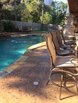 Stamped Concrete in Kingwood, Texas