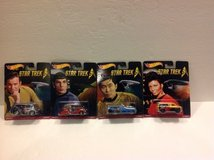 HOT WHEELS STAR TREK REAL RIDERS ( BRAND NEW - 4 PACK ) in Joliet, Illinois