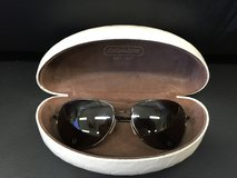 Coach Aviator Sunglasses with Coach Case in Okinawa, Japan