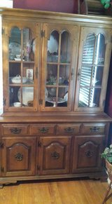 China cabinet just reduced in Fort Campbell, Kentucky