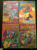 VeggieTales Larry Boy Dvd Collection in Batavia, Illinois