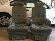 Two Captains Chairs / Seats for RV or Conversion Van in Moody AFB, Georgia