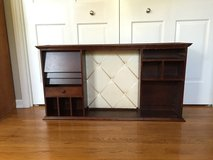 Antique Desk Top & cork board in St. Charles, Illinois