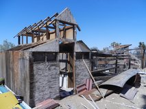 Free Wood-Old Chicken Coops in 29 Palms, California