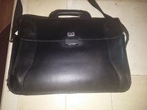 HP LAPTOP CARRIER, 100% LEATHER. fits 17 inch screened laptop. in Philadelphia, Pennsylvania