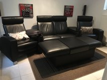 Stressless Couch, Arion High Back Home Theater, leather. in Ramstein, Germany