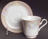 Mikasa Charisma Beige cups and saucers set of 5 in Morris, Illinois