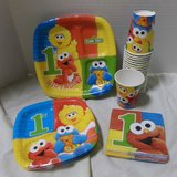 Sesame Street 1st Birthday Party Supply Set in Kingwood, Texas