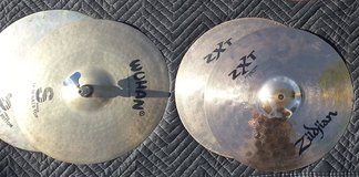 Various Cymbals in Travis AFB, California