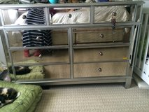 Hayworth Mirrored Dresser & Nightstand in Camp Lejeune, North Carolina