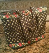 Vera Bradley Vibrant Black Little Toggle Tote in Kingwood, Texas