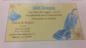 we clean house or apartment in Conroe, Texas