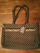 Vera Bradley Vibrant Black Laptop/Attache/Brief Case in Kingwood, Texas