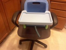 Booster chair with tray in Oswego, Illinois