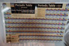Periodic Table Study Chart in Batavia, Illinois