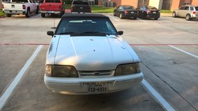 93 convertible ford mustang (automatic 4 cylinder) in Conroe, Texas