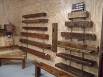 Vintage Barnwood Hand Crafted Pieces. Mantels Benches in DeKalb, Illinois