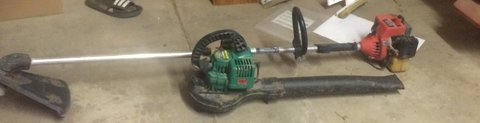 gas blower and gas weed eater in Alamogordo, New Mexico