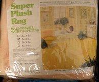Plush PEACH Nylon Wall To Wall Bathroom Carpet 5 x 6 in Wilmington, North Carolina