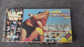 WWF wrestle mania vhs board game in Bartlett, Illinois