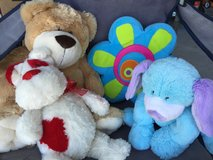 Stuffed dogs, bear and pillow like new in Camp Lejeune, North Carolina