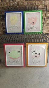 Kid's room wall decor - 4 prints in Naperville, Illinois