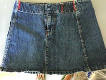 Blue jean skirt size 7/8 Jrs in Camp Lejeune, North Carolina