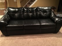 Leather couch in Fort Carson, Colorado