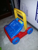 Mega blocks push cart in Travis AFB, California