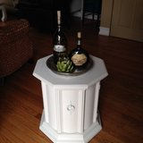 OCTAGON END TABLE - NIGHT STAND in Naperville, Illinois