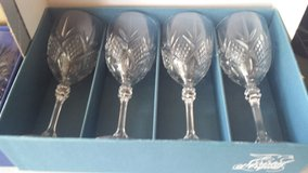 Fontenay Crystal Goblets - set of 4 in Westmont, Illinois