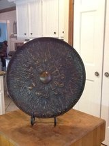 Metal plate with stand in Kingwood, Texas