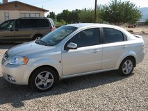 2007 chevy aveo lt in Alamogordo, New Mexico