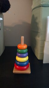 Stacking toy in Elgin, Illinois