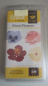 NEW - Giant Flowers Cricut Art Cartridge in Naperville, Illinois