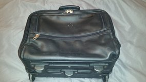 Black Rolling Laptop Bag with Storage in Fort Campbell, Kentucky