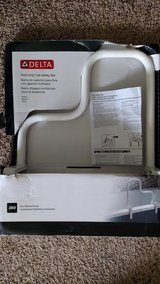16 in. x 1 in. Multi-Grip Tub Safety Bar in White  New in box in Lockport, Illinois