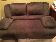 Brown recliner couch in Fort Carson, Colorado
