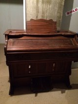 Vintage Farrand Pump Organ with Stool in Fort Riley, Kansas