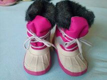 Girl winter boots in Ramstein, Germany