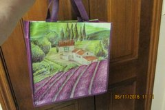 """Lavender Fields"" South Of France Fabric Tote in Houston, Texas"