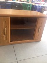 Light Oak TV Stand in Fort Wayne, Indiana
